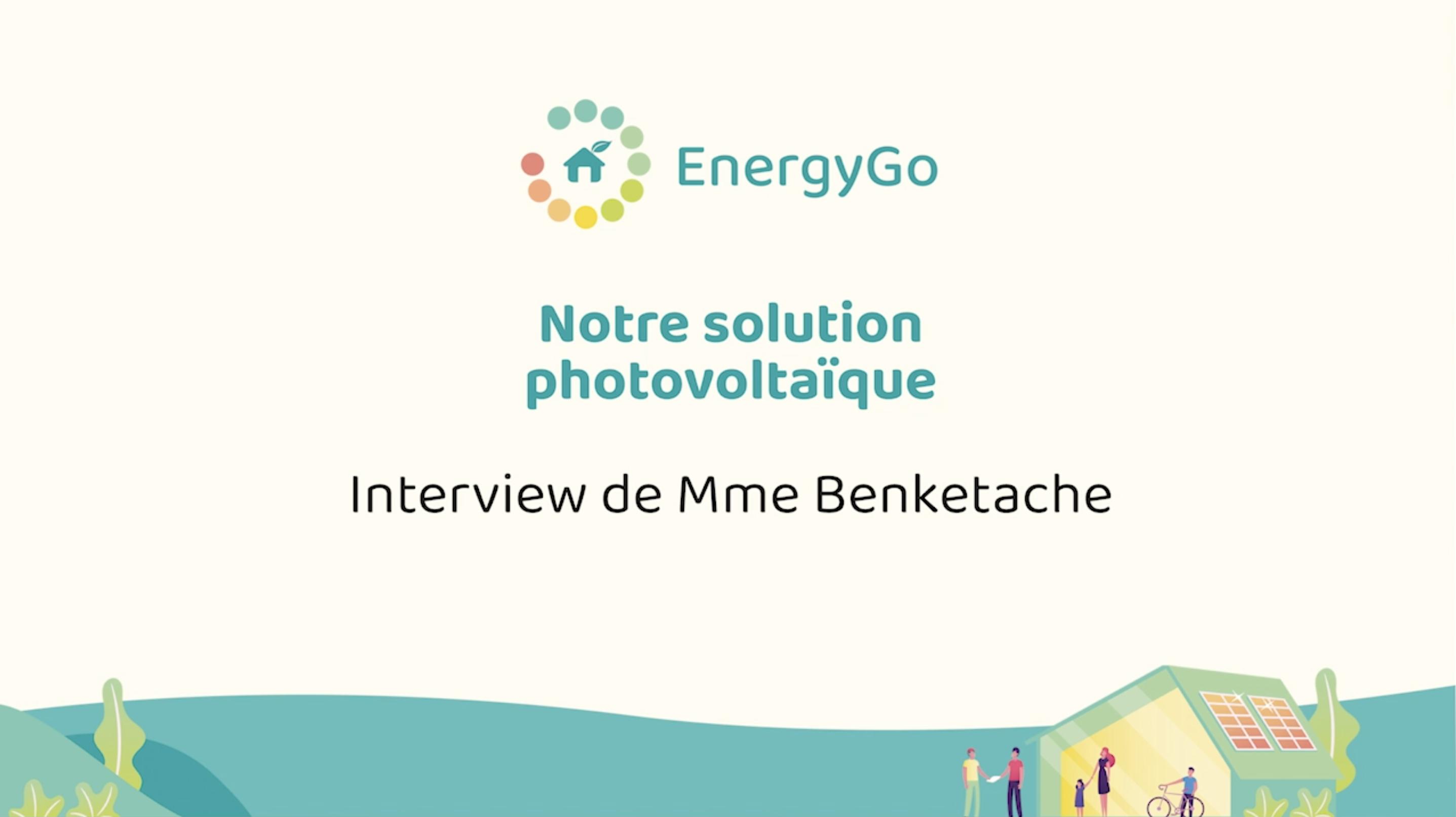 Notre solution solaire | EnergyGo