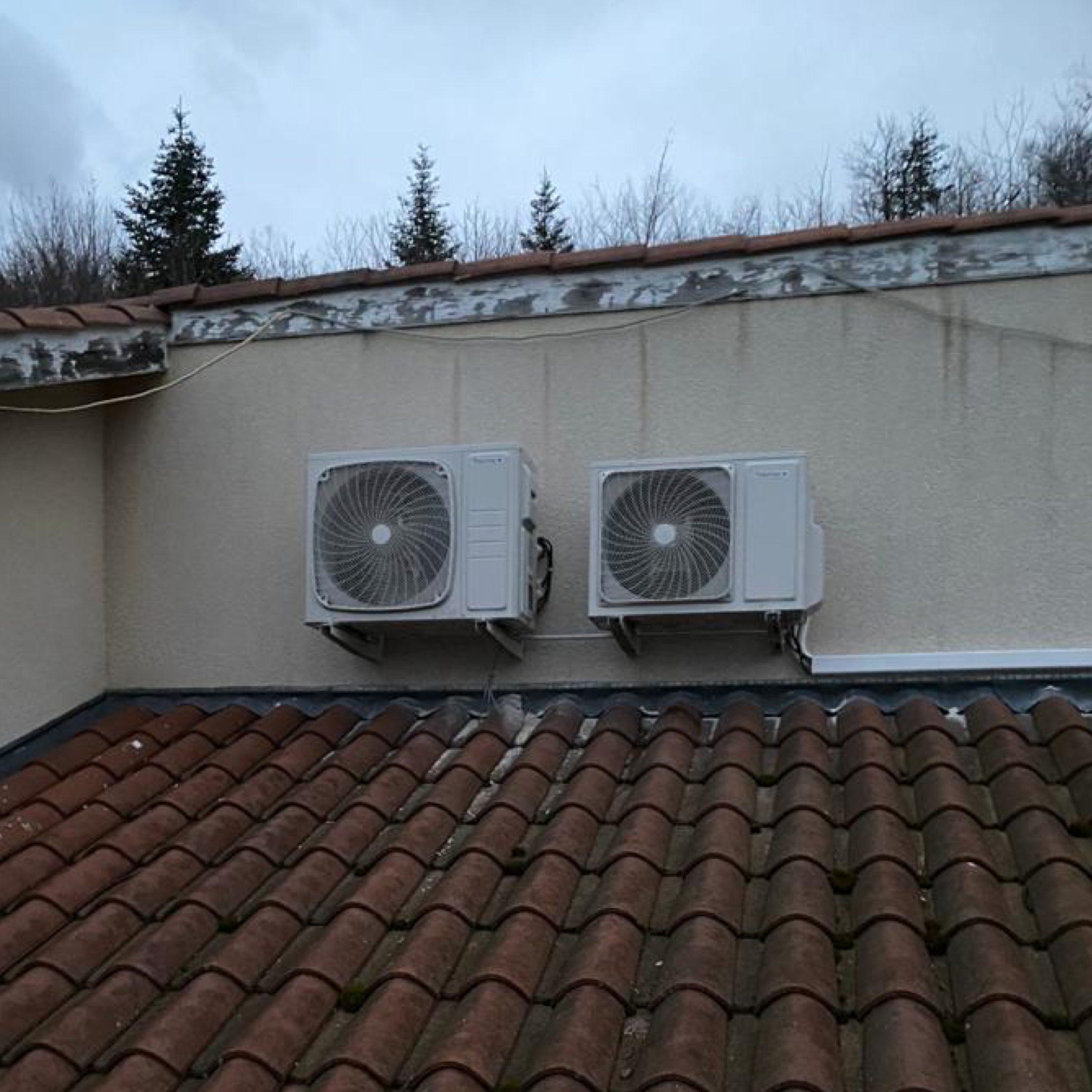 Nos réalisations de pompes à chaleur Air / Air 9