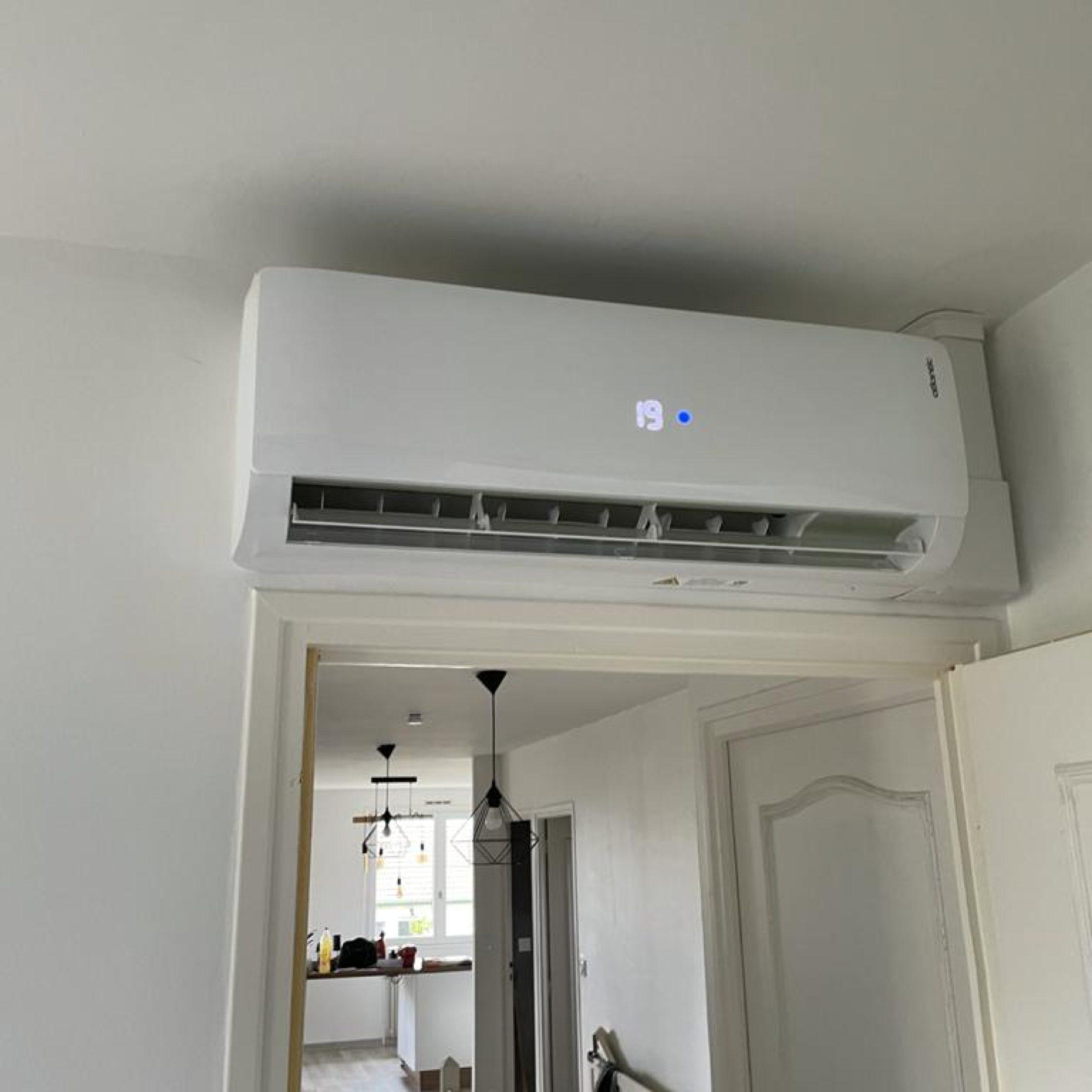 Nos réalisations de pompes à chaleur Air / Air 11