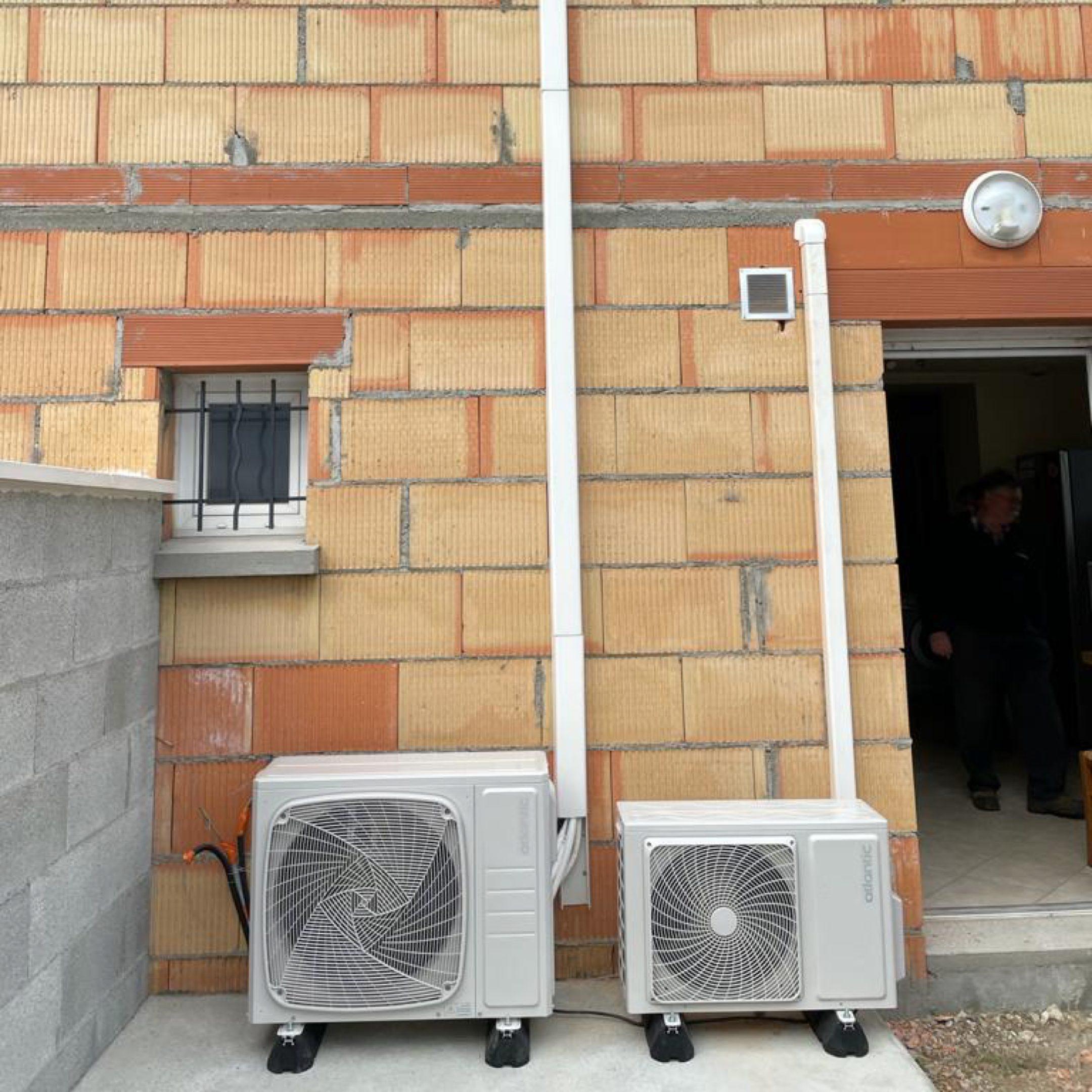 Nos réalisations de pompes à chaleur Air / Air 14