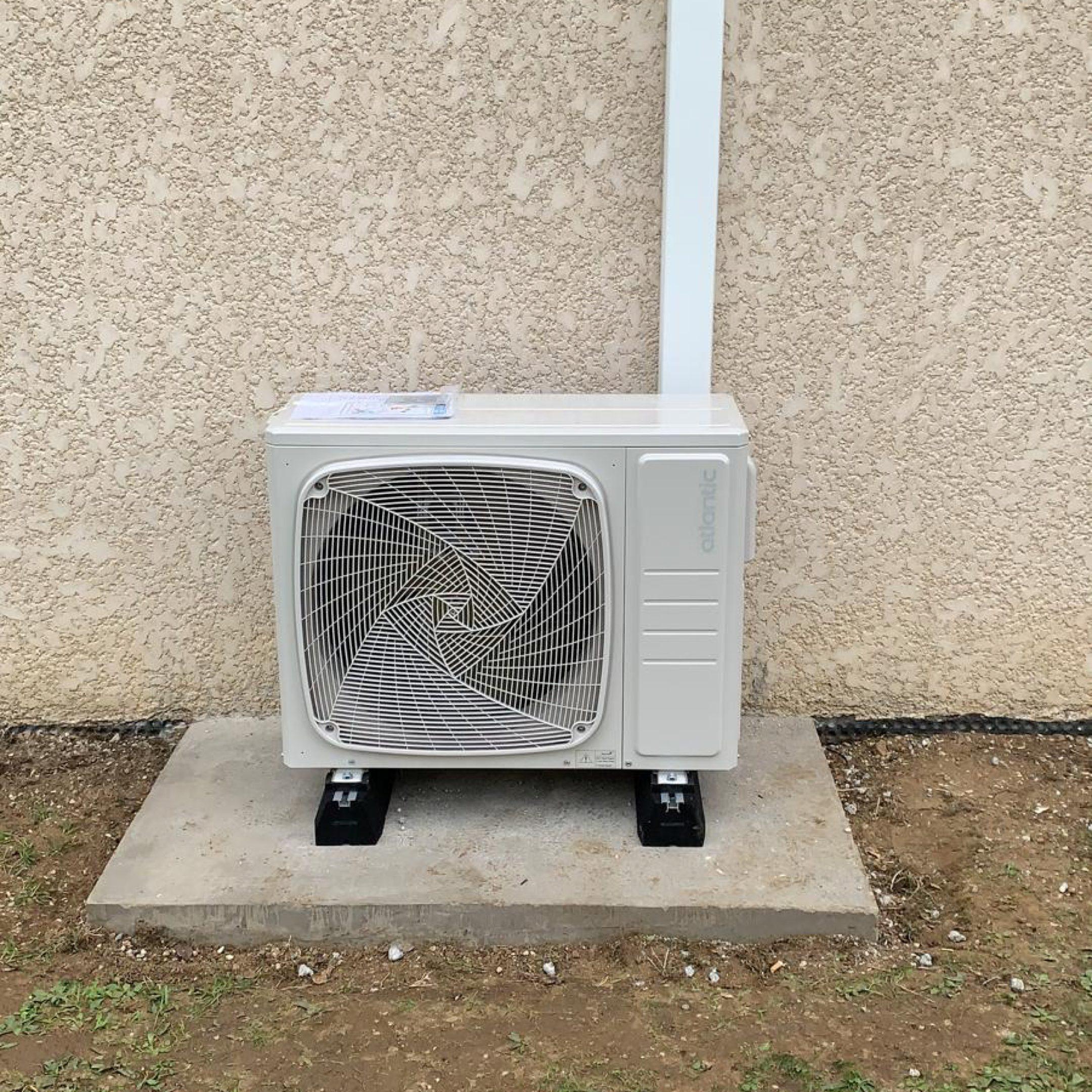 Nos réalisations de pompes à chaleur Air / Air 1