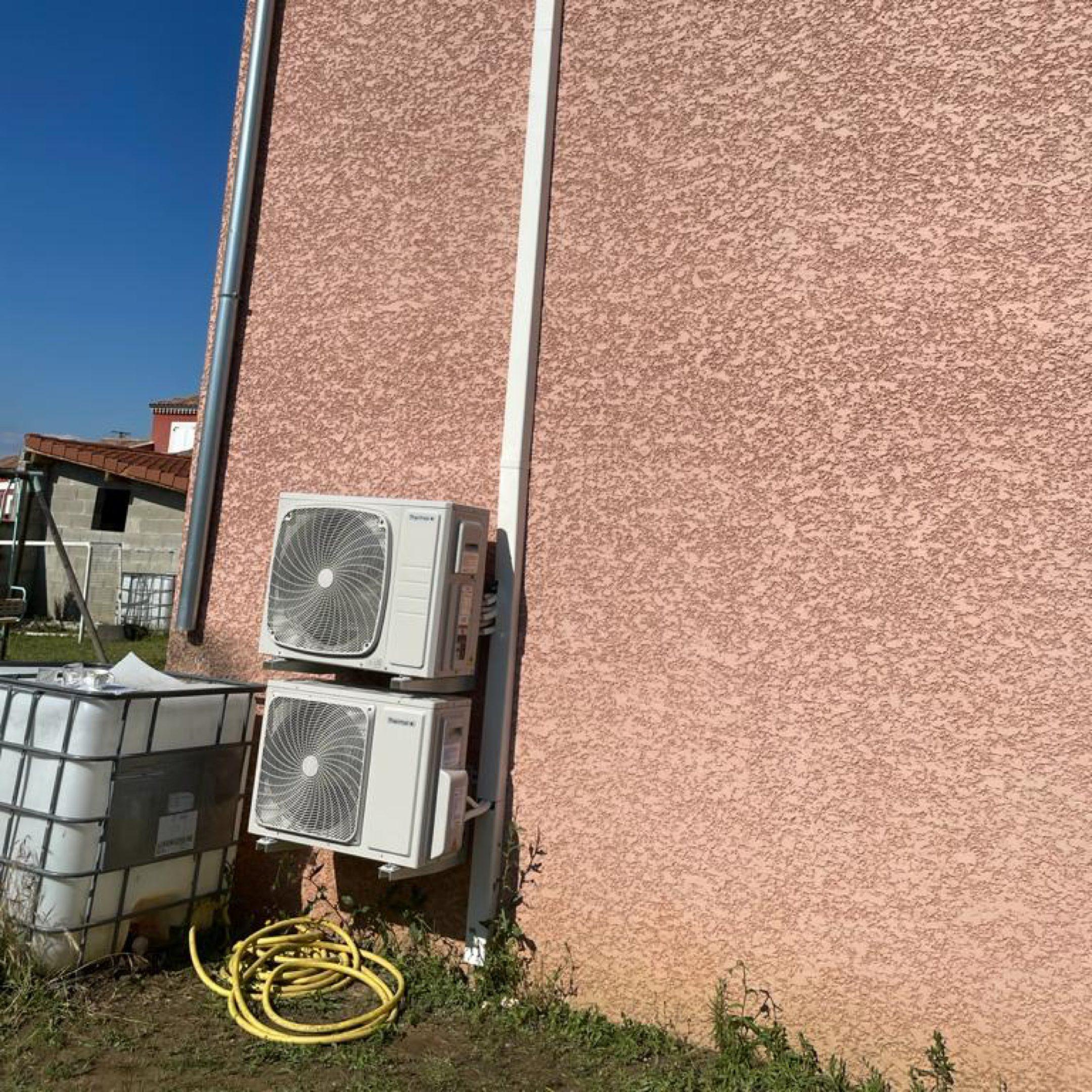 Nos réalisations de pompes à chaleur Air / Air 25