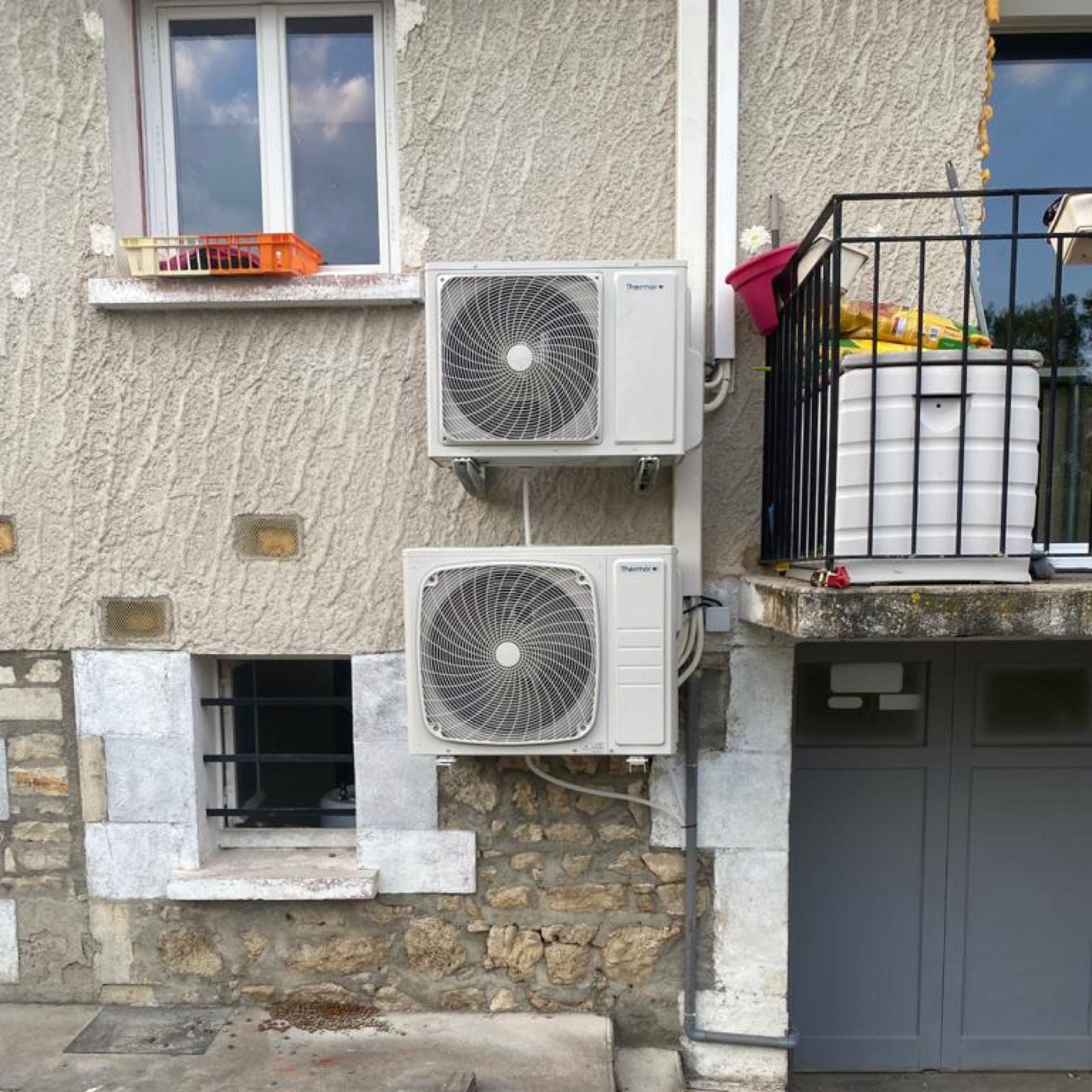 Nos réalisations de pompes à chaleur Air / Air 26