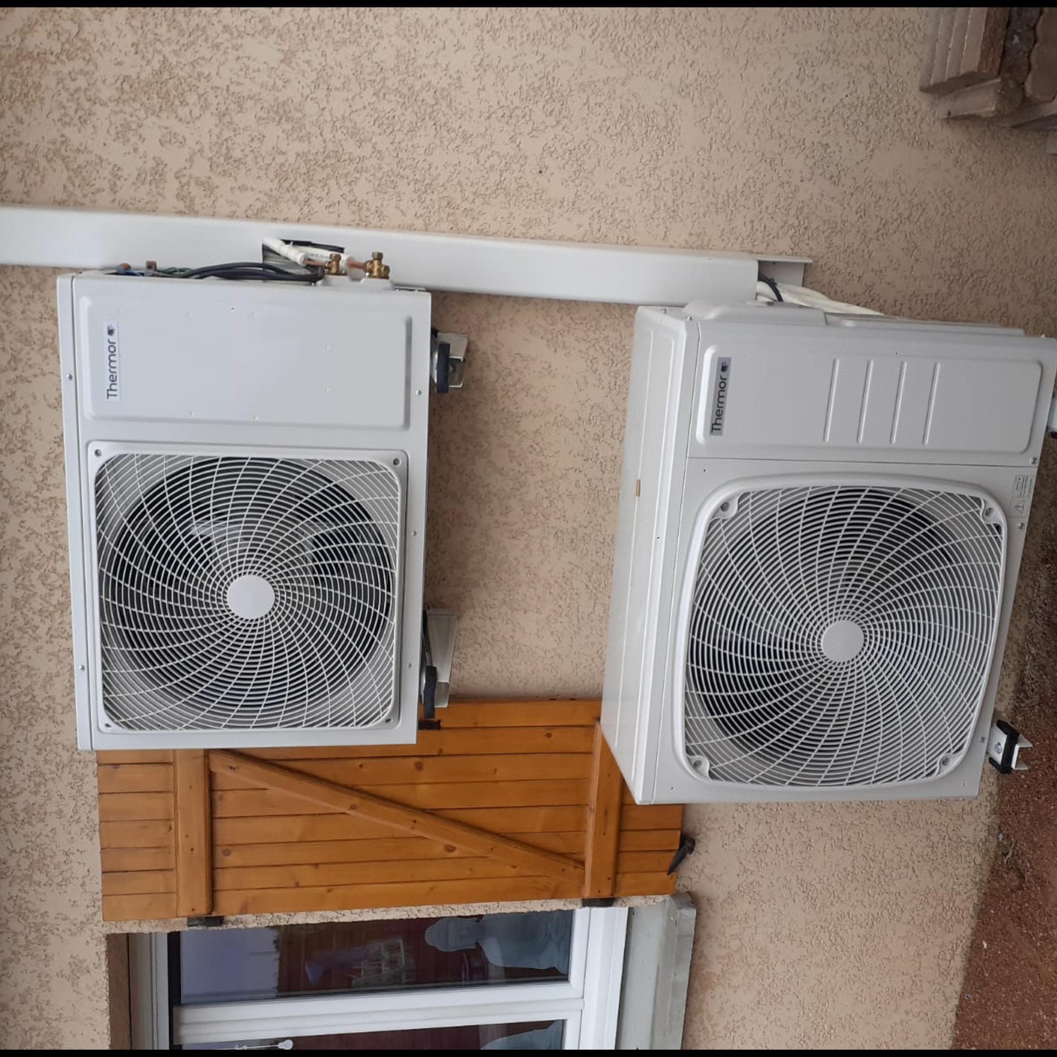 Nos réalisations de pompes à chaleur Air / Air 34
