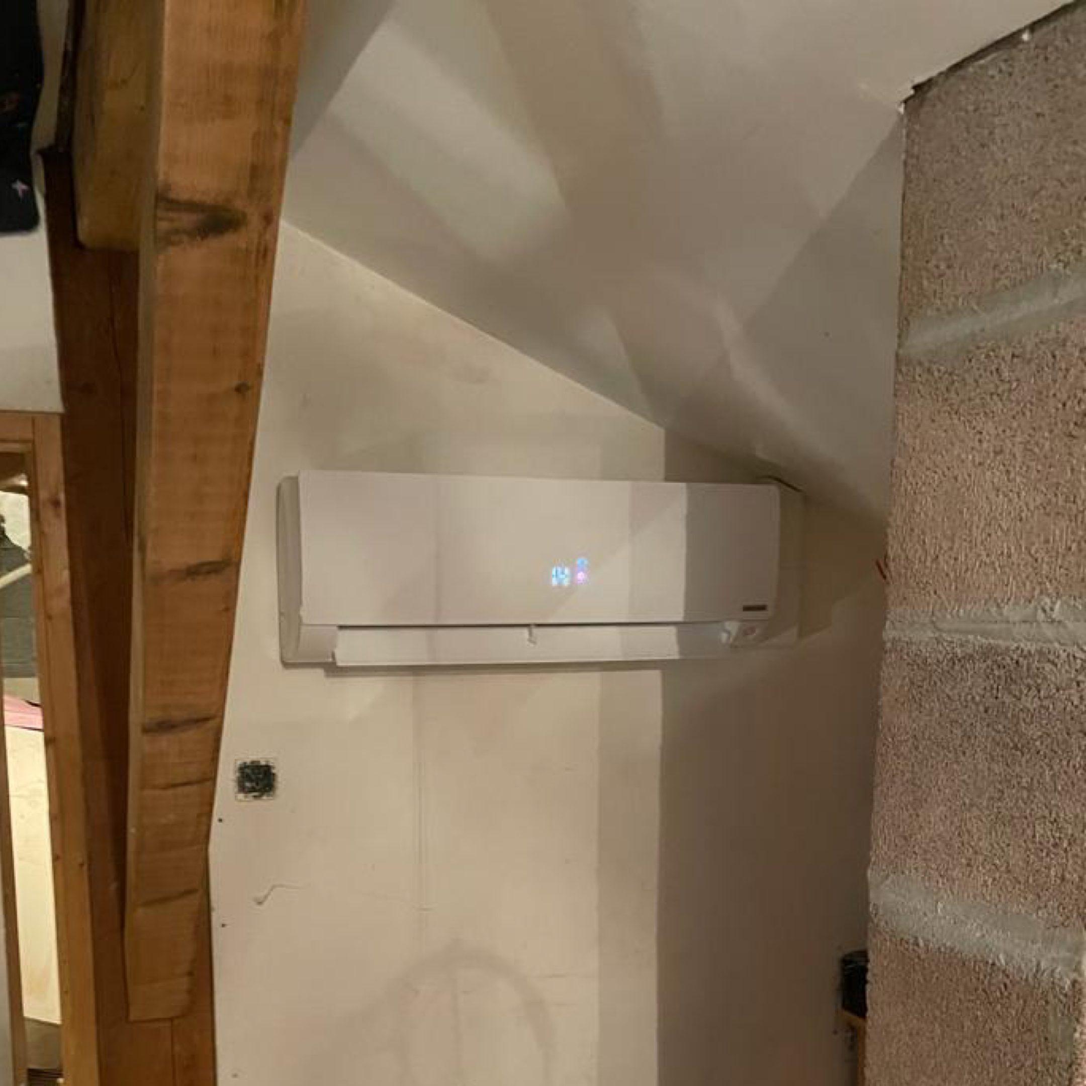 Nos réalisations de pompes à chaleur Air / Air 35