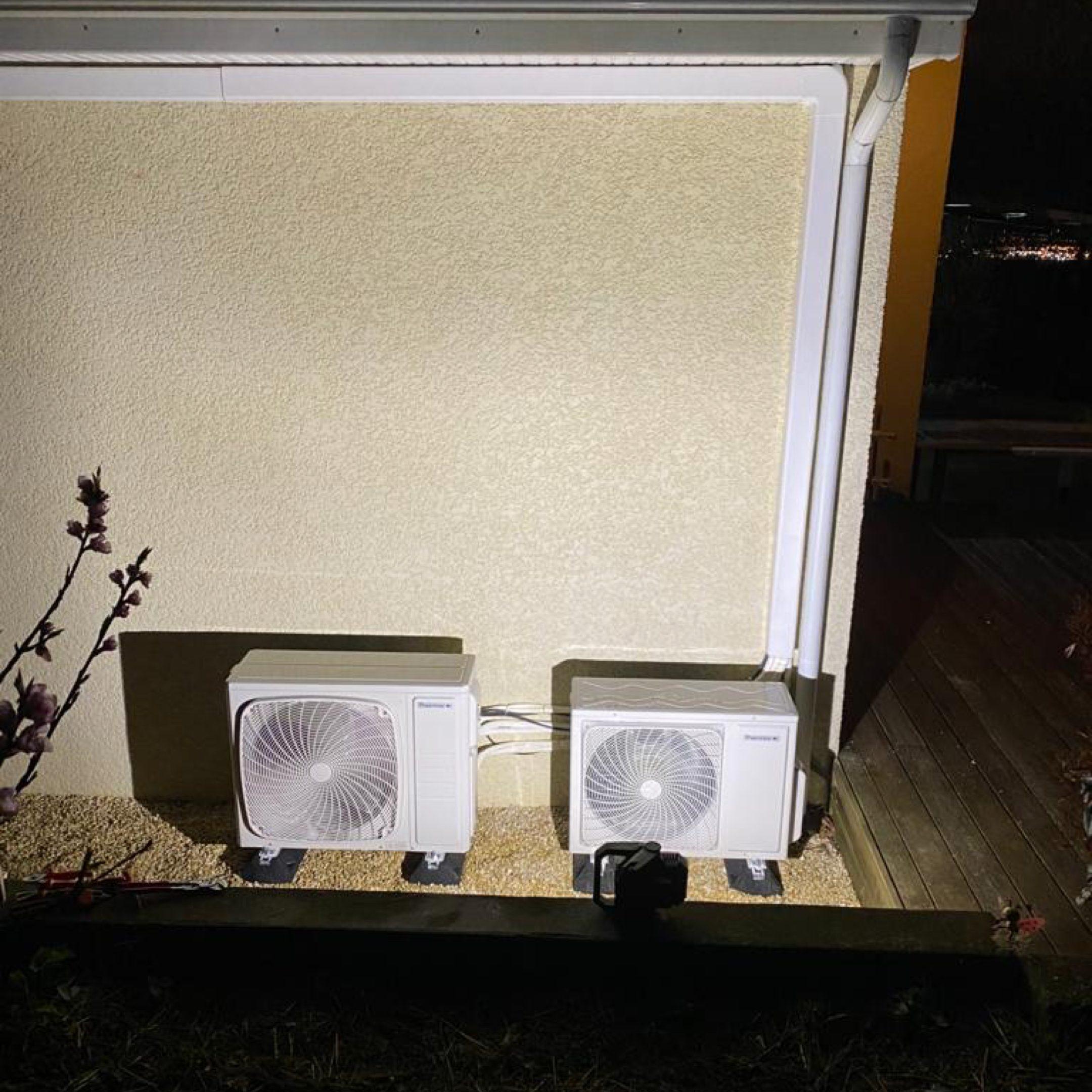 Nos réalisations de pompes à chaleur Air / Air 38