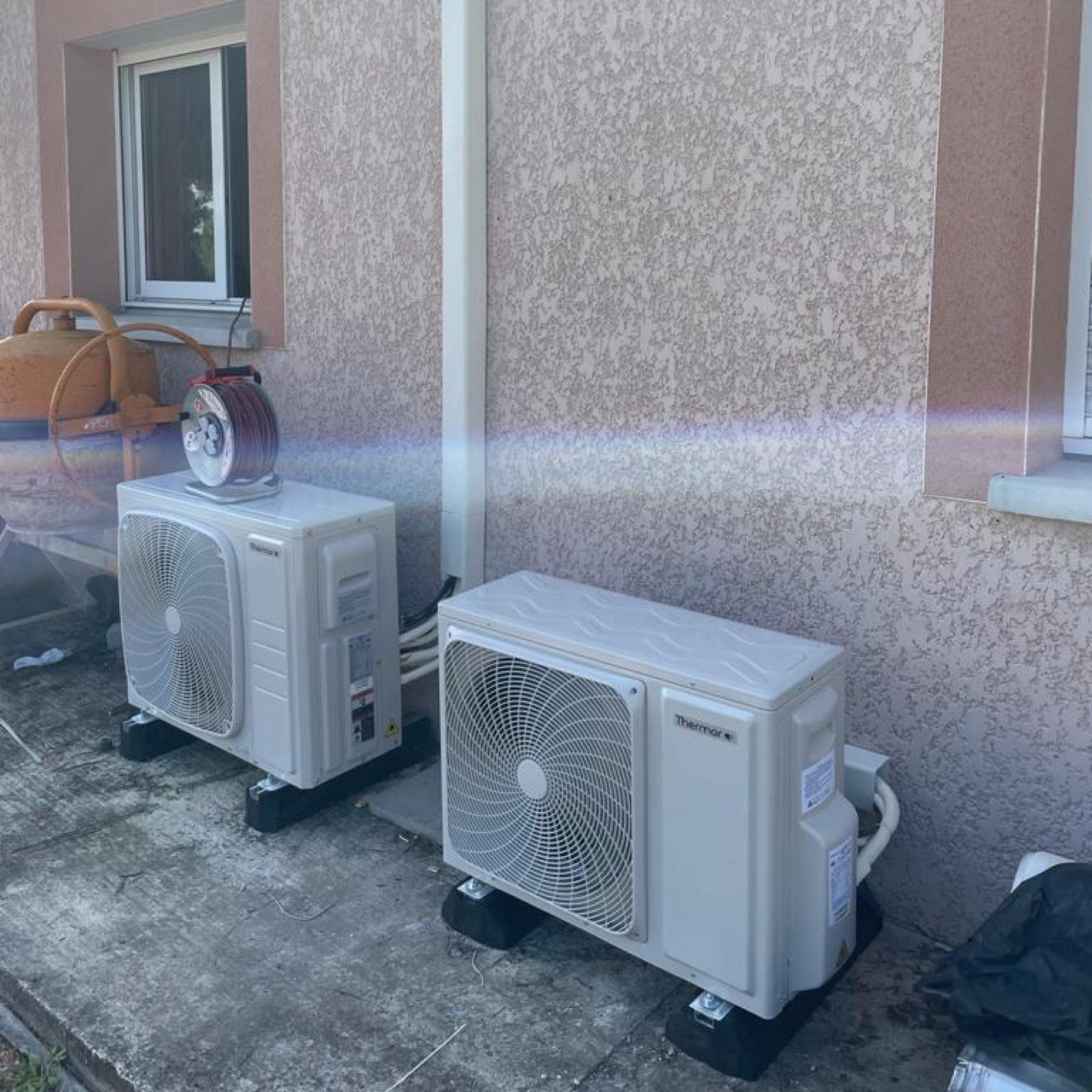 Nos réalisations de pompes à chaleur Air / Air 42