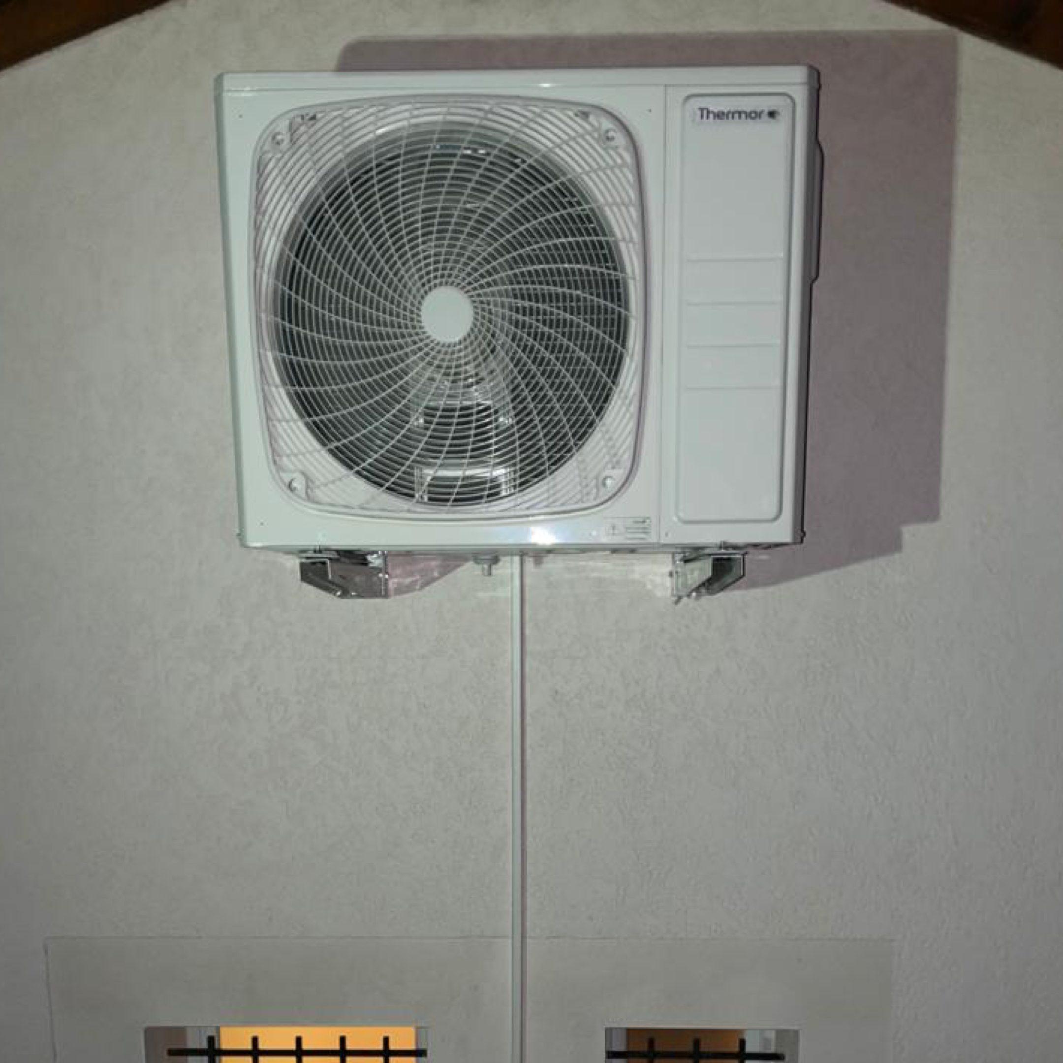 Nos réalisations de pompes à chaleur Air / Air