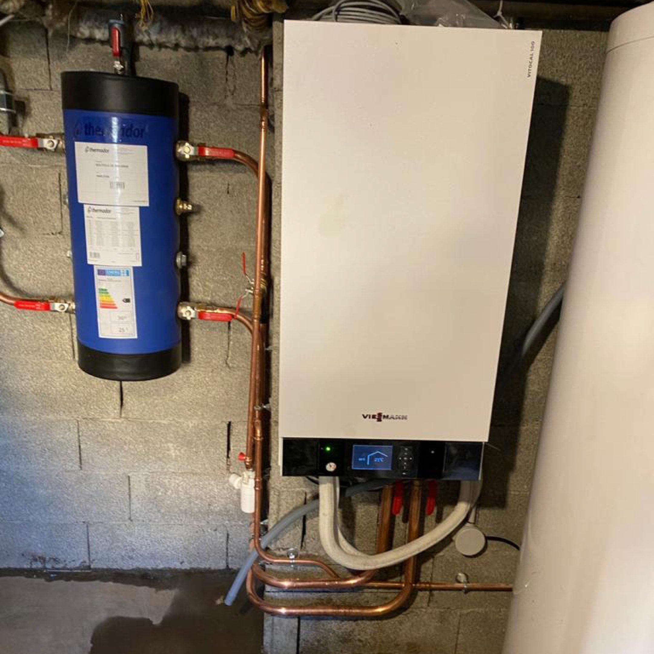 Nos réalisations de pompes à chaleur Air / Eau 11