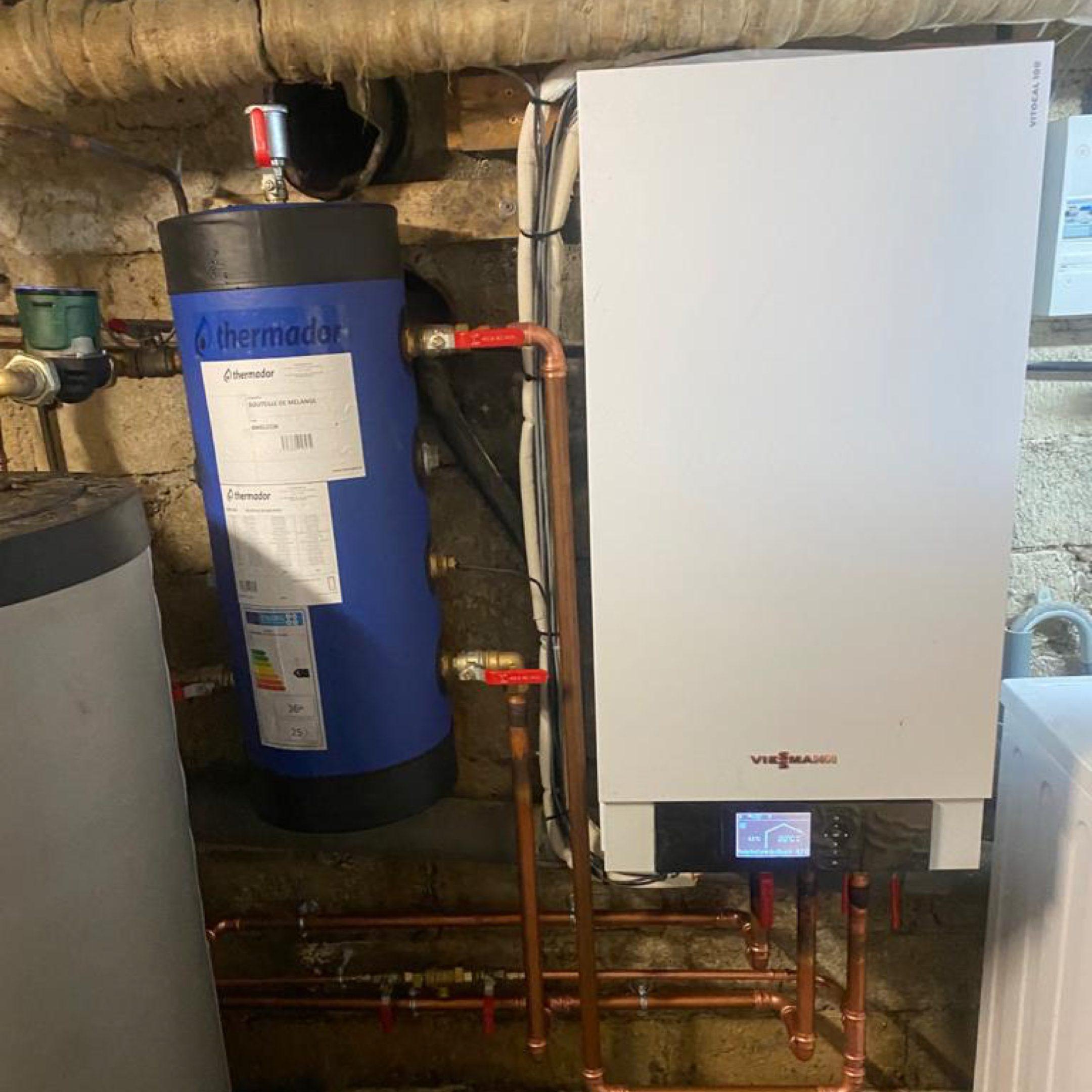 Nos réalisations de pompes à chaleur Air / Eau 18