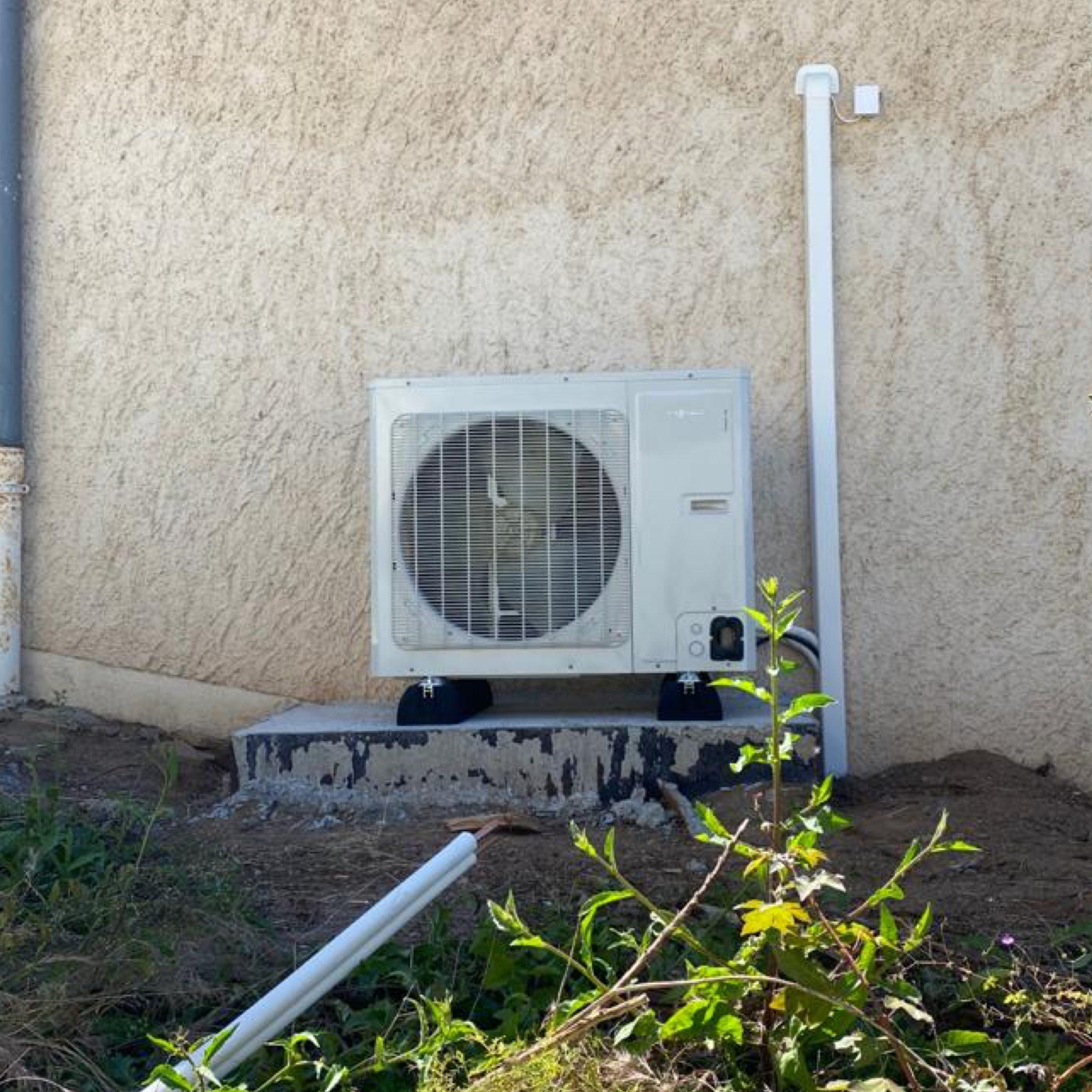 Nos réalisations de pompes à chaleur Air / Eau 1