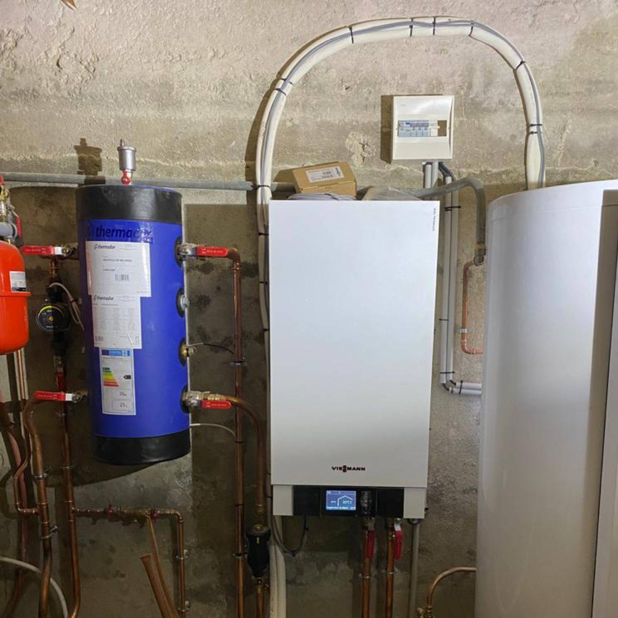 Nos réalisations de pompes à chaleur Air / Eau 26