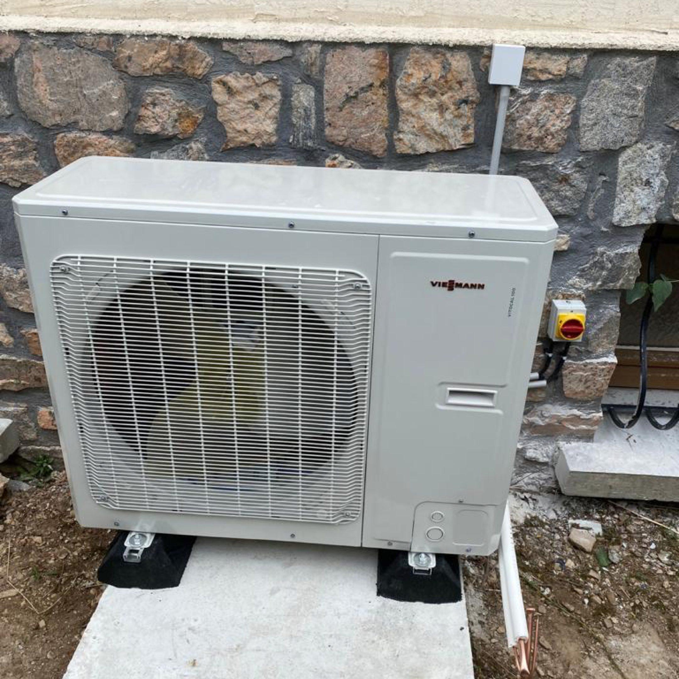 Nos réalisations de pompes à chaleur Air / Eau 27
