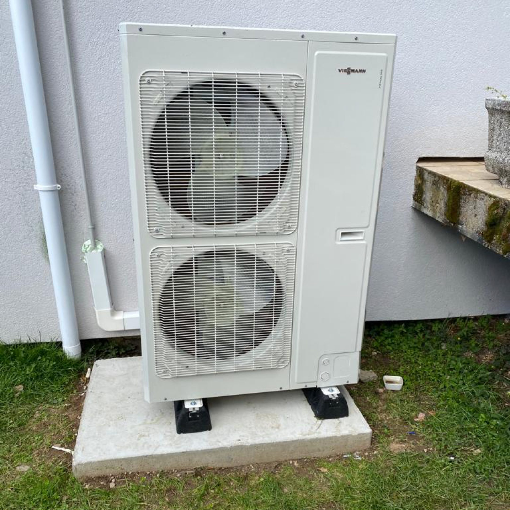 Nos réalisations de pompes à chaleur Air / Eau 2