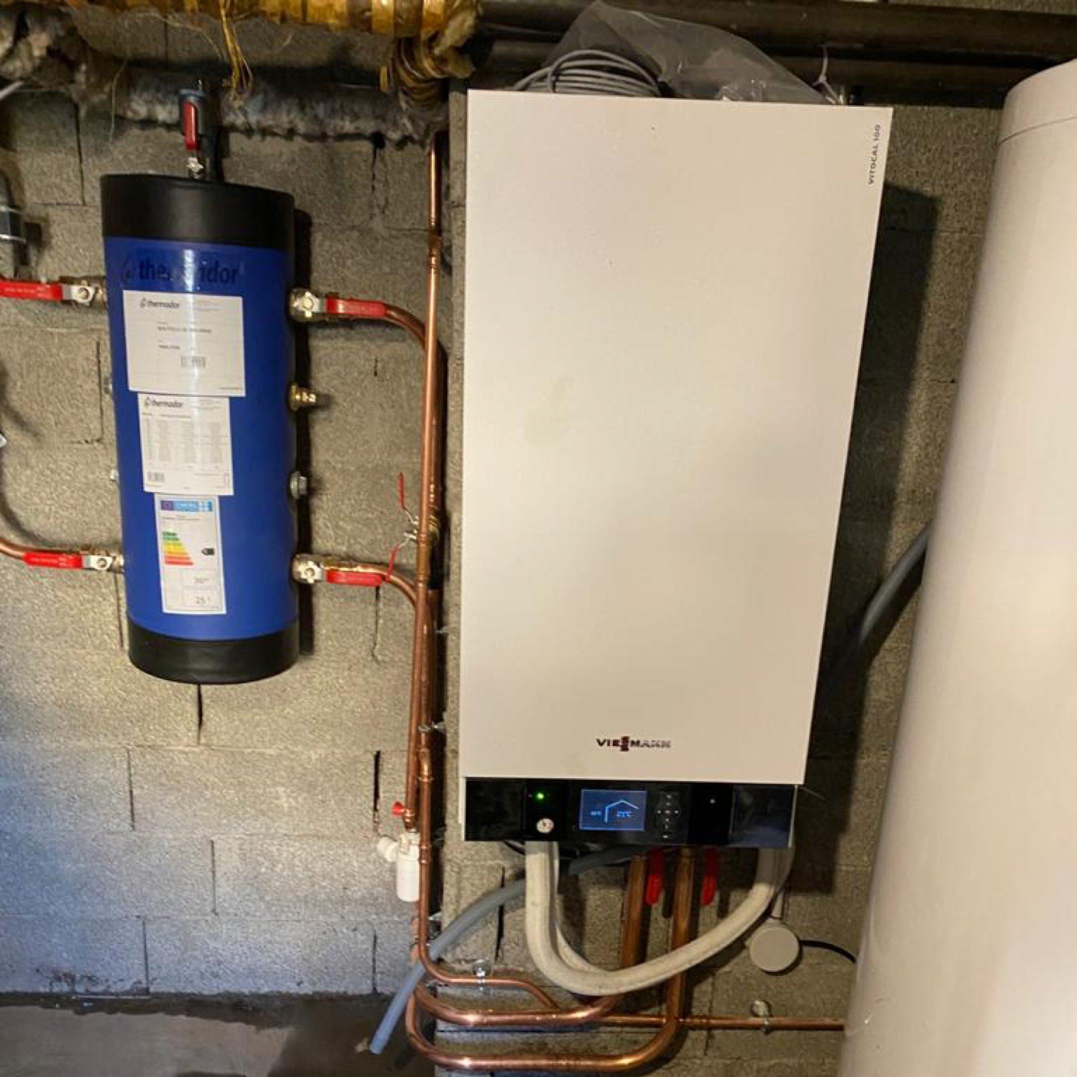 Nos réalisations de pompes à chaleur Air / Eau 32
