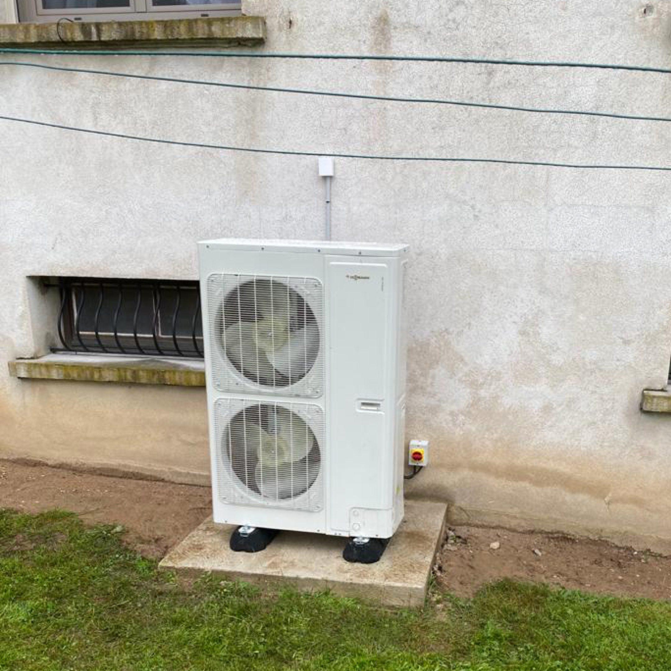 Nos réalisations de pompes à chaleur Air / Eau 34