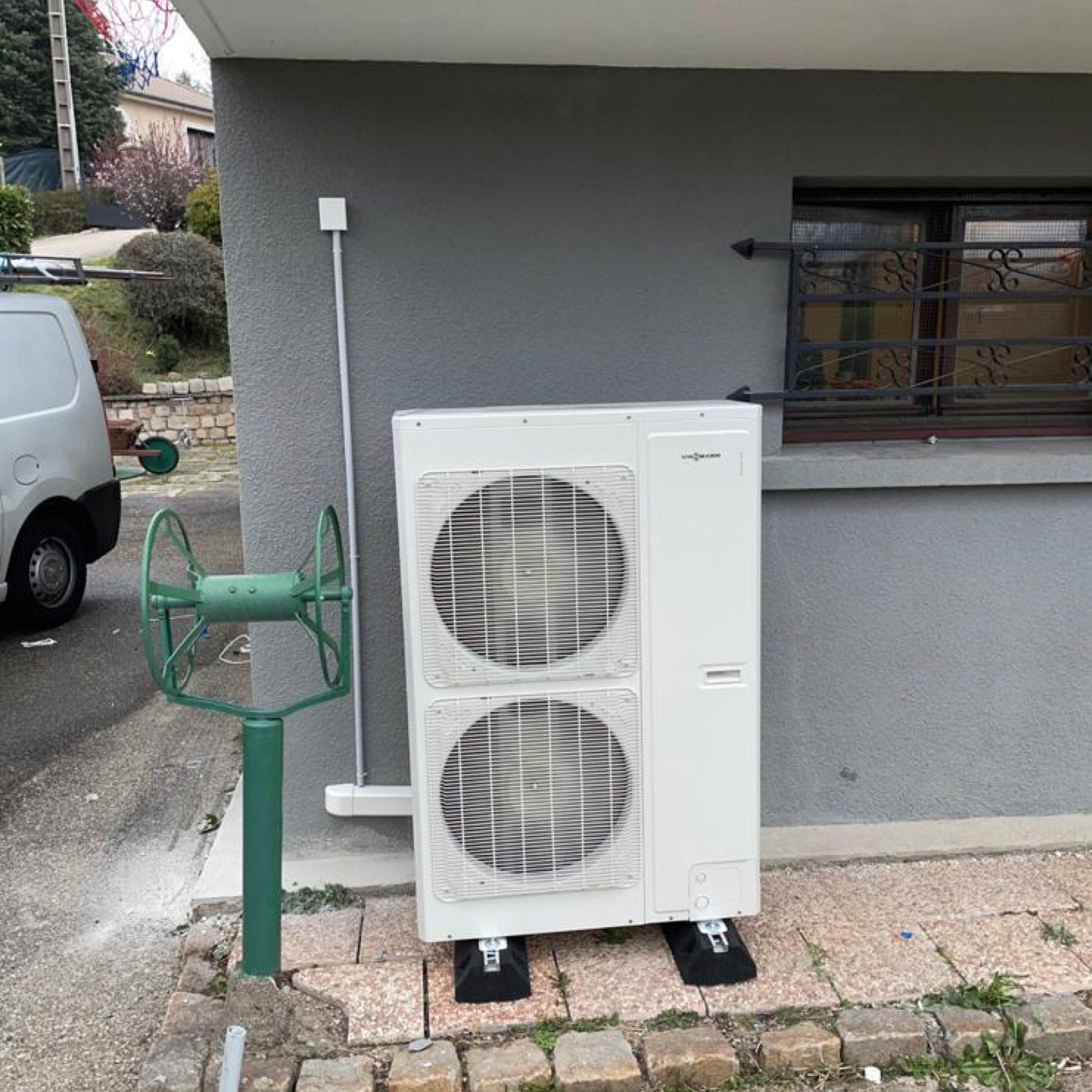 Nos réalisations de pompes à chaleur Air / Eau 4