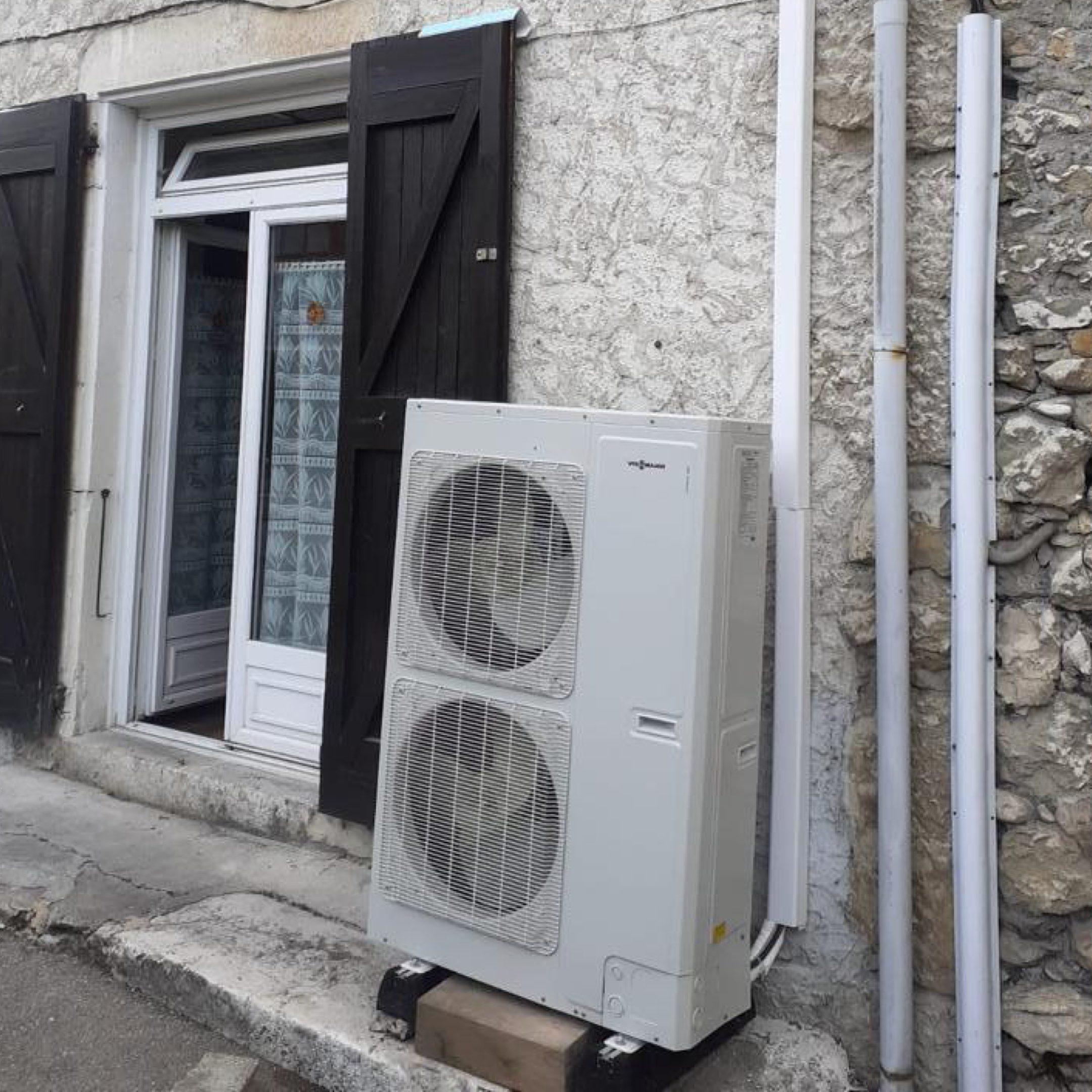 Nos réalisations de pompes à chaleur Air / Eau 5