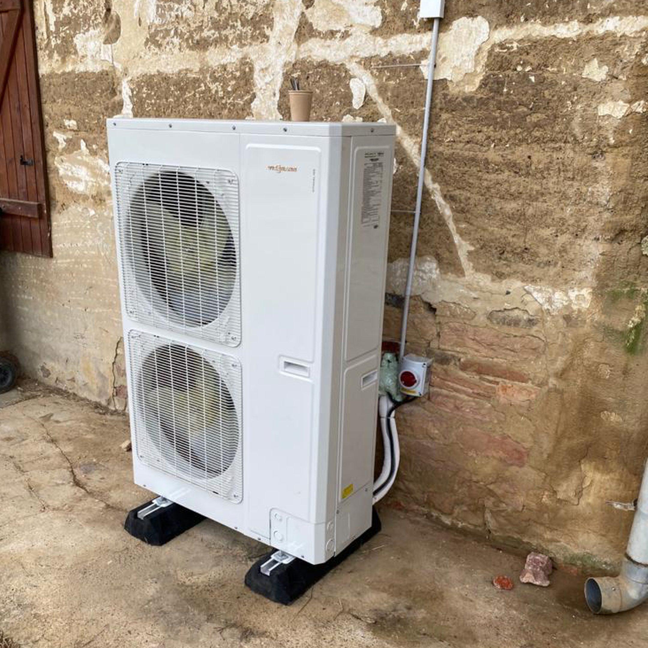Nos réalisations de pompes à chaleur Air / Eau 6