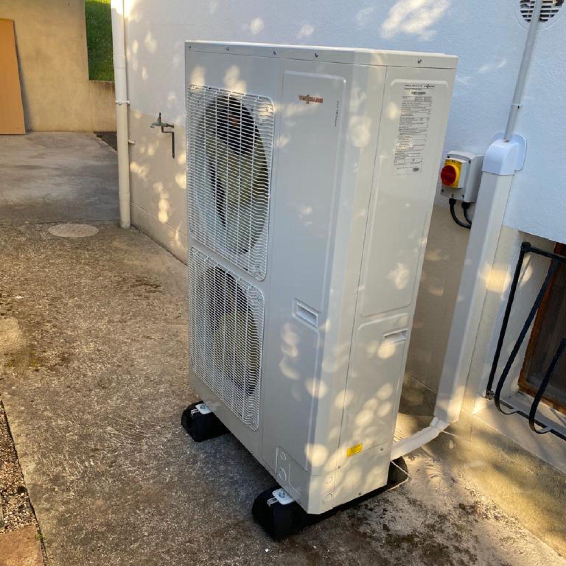 Nos réalisations de pompes à chaleur Air / Eau 8