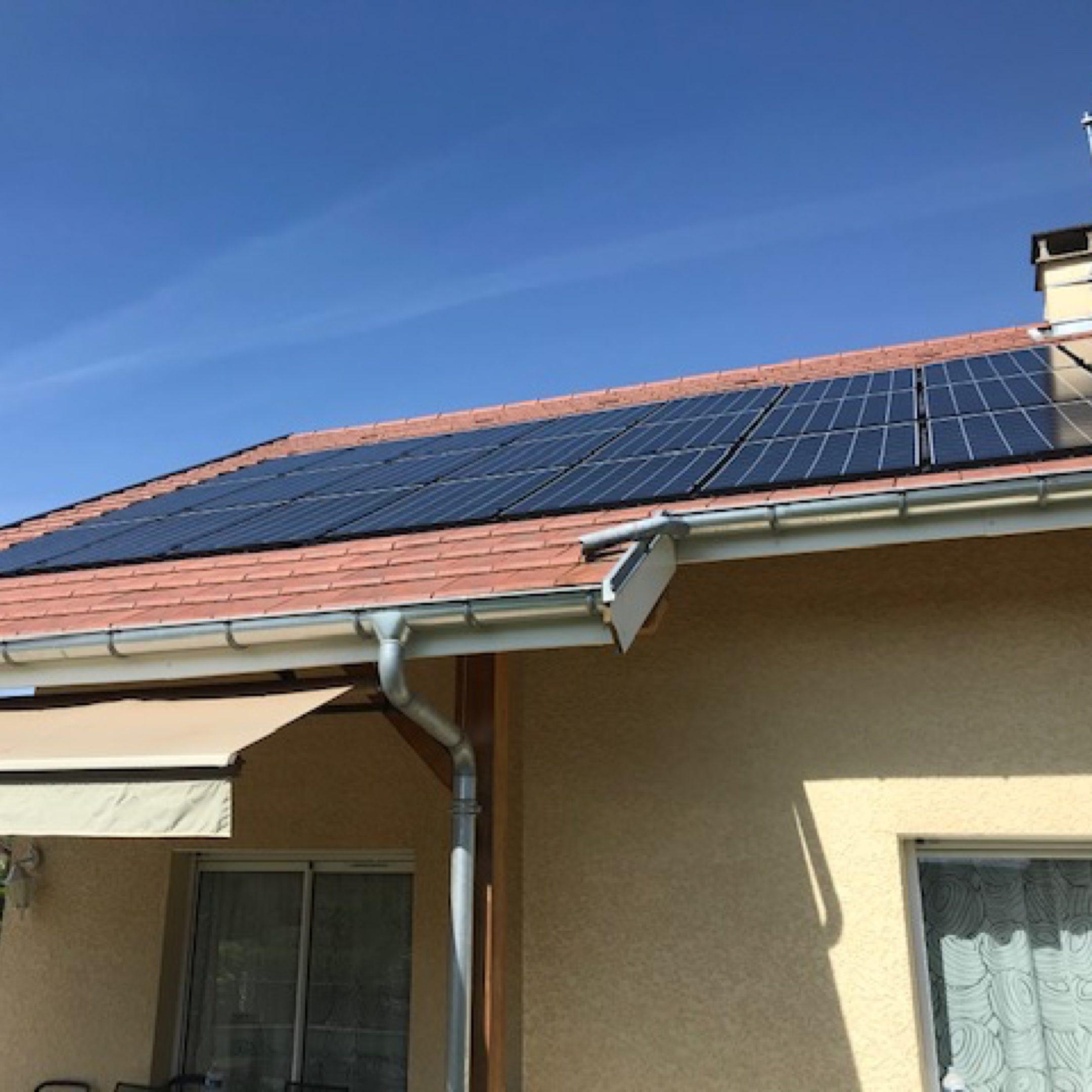 Nos réalisations d'installations de panneaux solaires 12