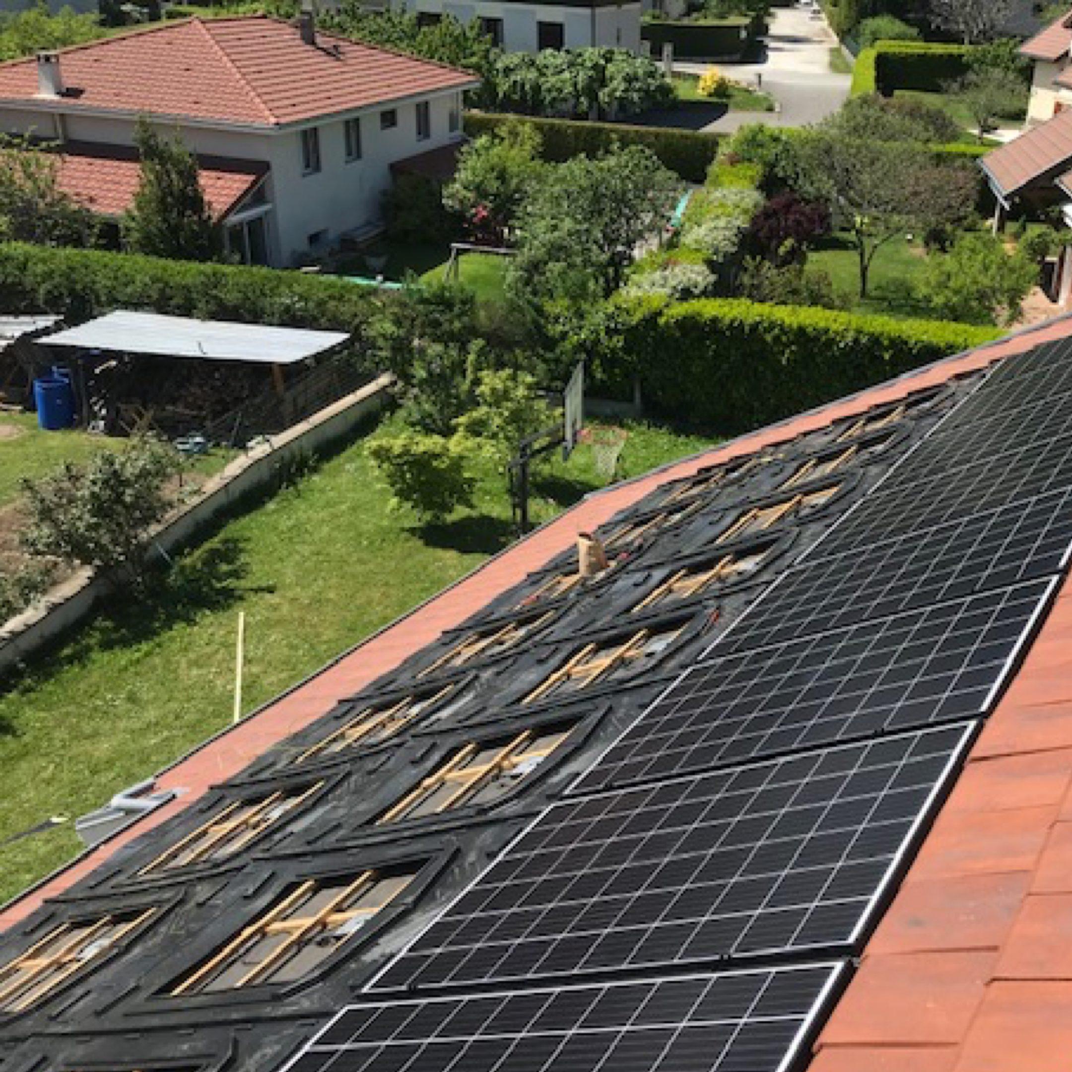 Nos réalisations d'installations de panneaux solaires 13