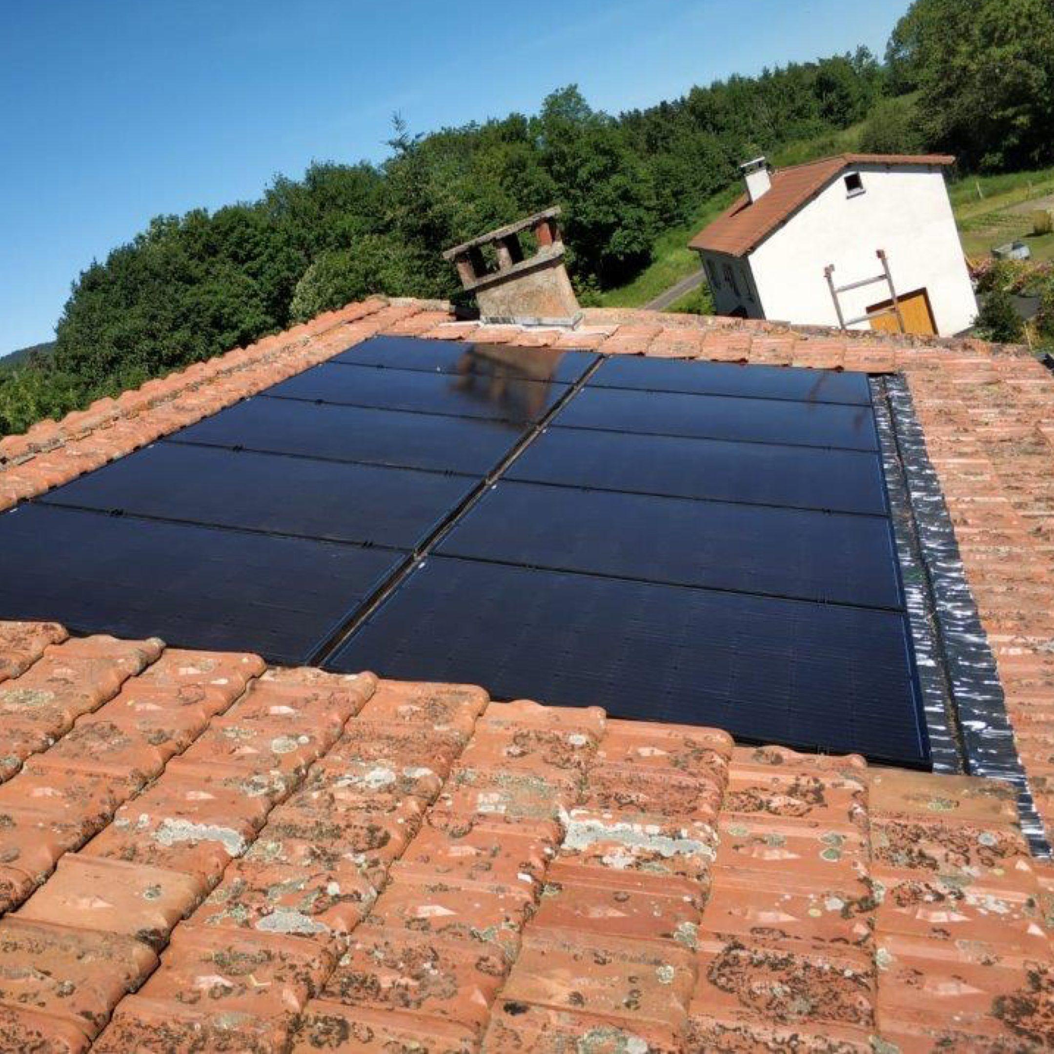 Nos réalisations d'installations de panneaux solaires 17