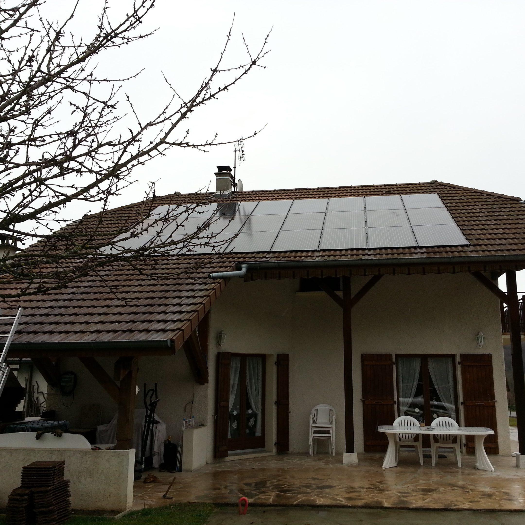 Nos réalisations d'installations de panneaux solaires 2