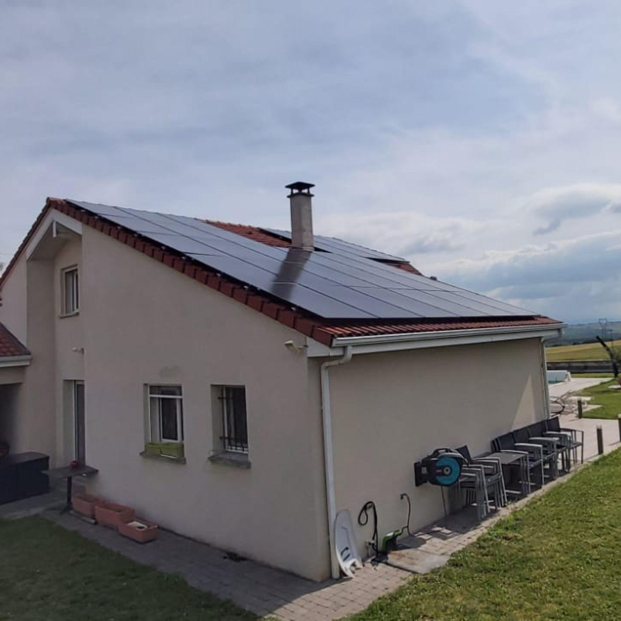 Nos réalisations d'installations de panneaux solaires 4