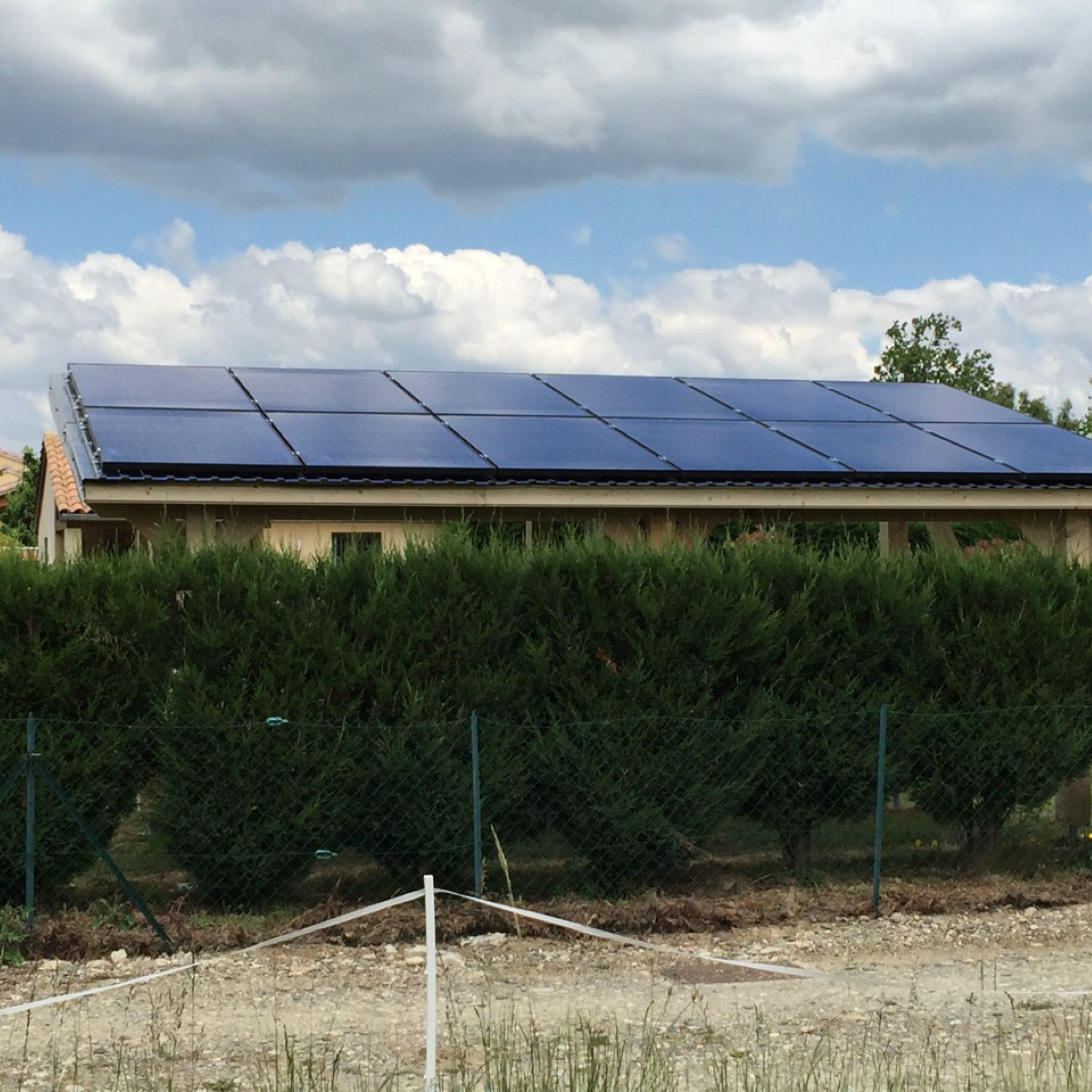 Nos réalisations d'installations de panneaux solaires