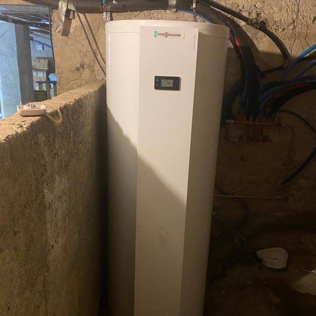 Nos réalisations d'isolation de Chauffe-eau thermodynamique 11