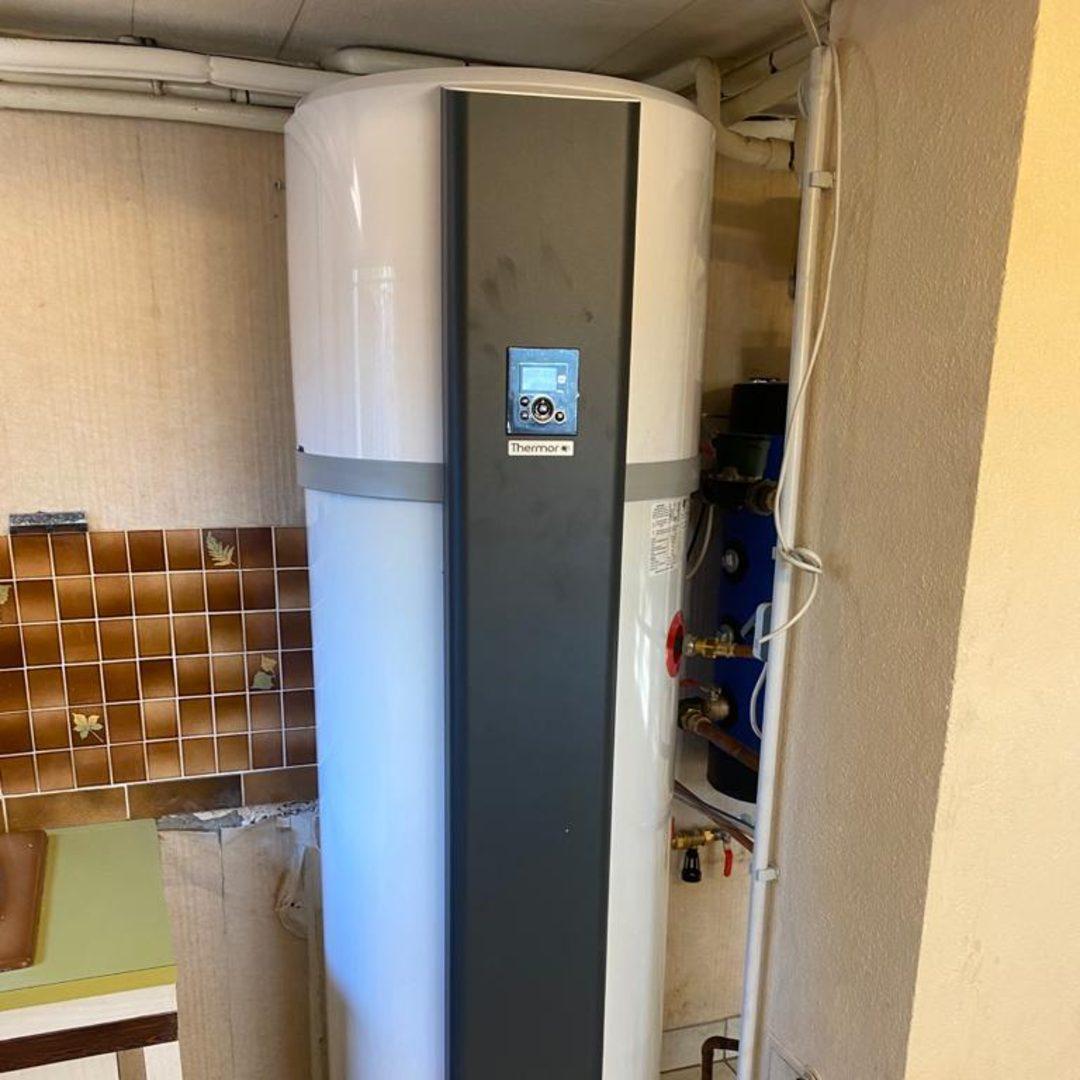 Nos réalisations d'isolation de Chauffe-eau thermodynamique 12