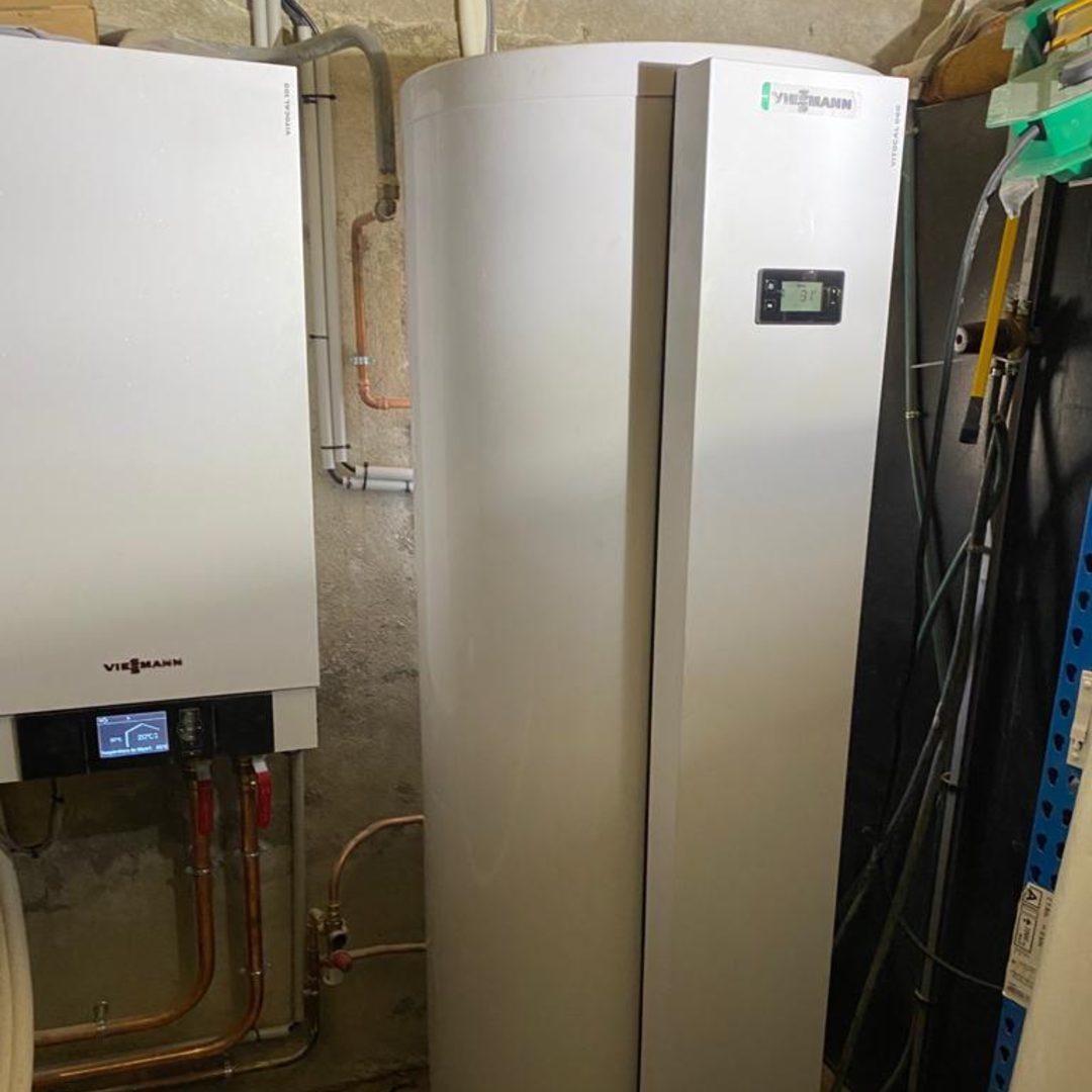 Nos réalisations d'isolation de Chauffe-eau thermodynamique 13