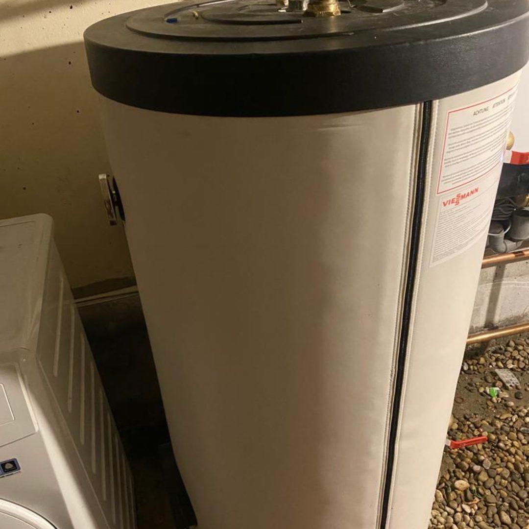 Nos réalisations d'isolation de Chauffe-eau thermodynamique 1