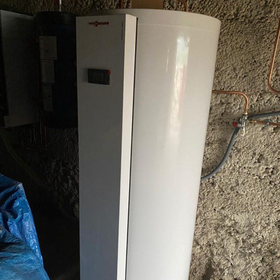 Nos réalisations d'isolation de Chauffe-eau thermodynamique 3