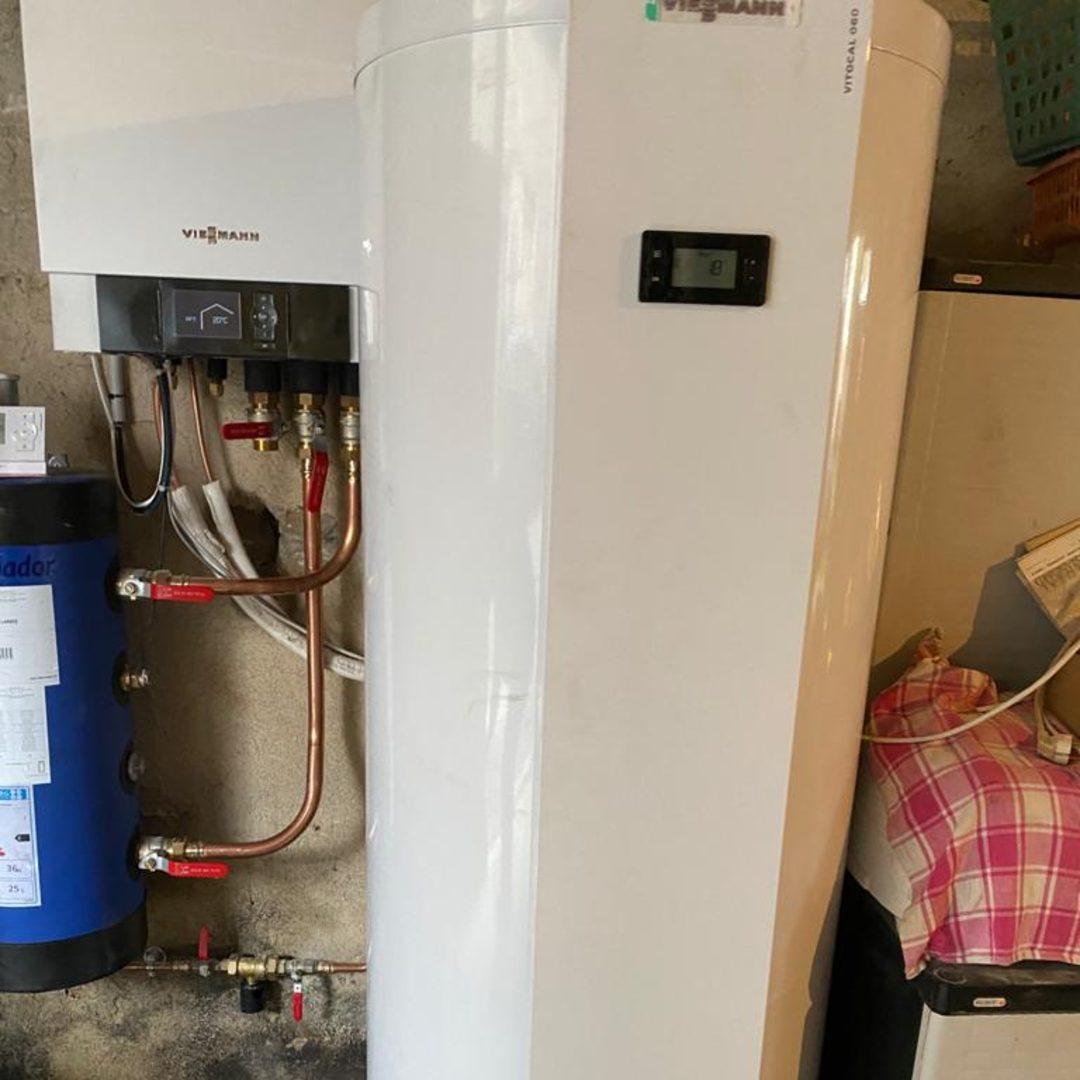 Nos réalisations d'isolation de Chauffe-eau thermodynamique 6