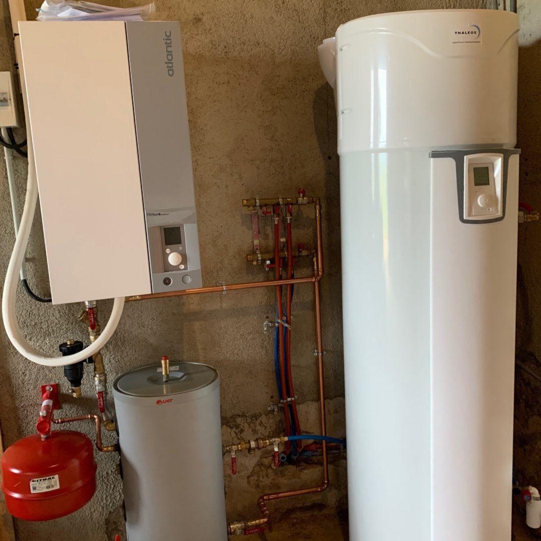 Nos réalisations d'isolation de Chauffe-eau thermodynamique