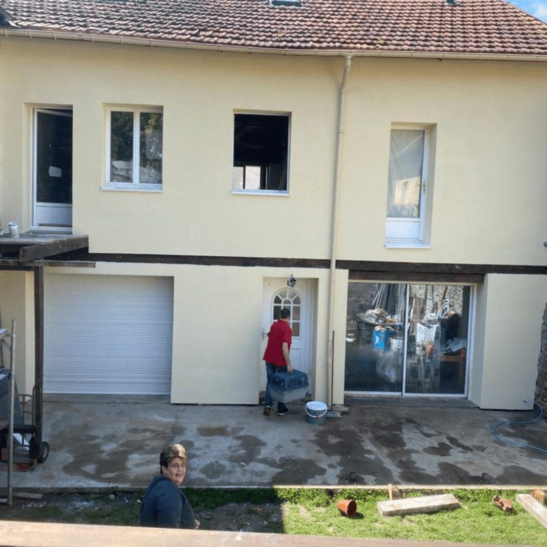 Nos réalisations d'isolation des murs par l'extérieur 9