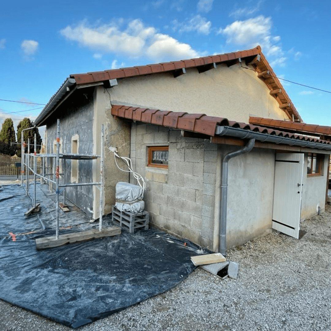 Nos réalisations d'isolation des murs par l'extérieur 18
