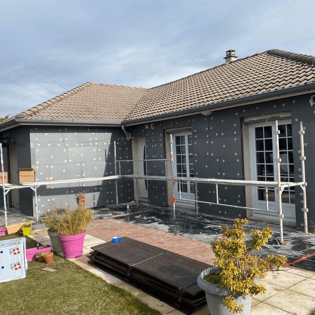 Nos réalisations d'isolation des murs par l'extérieur 26